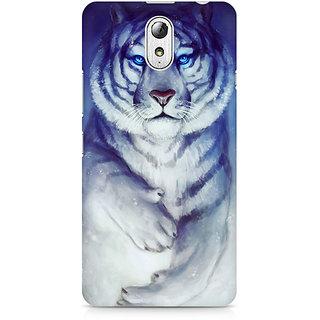 CopyCatz White Tiger Premium Printed Case For Lenovo Vibe P1M