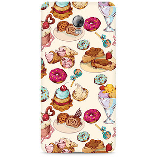 CopyCatz Ice Cream Love Premium Printed Case For Lenovo Vibe P1