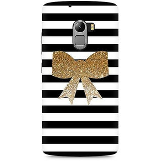 CopyCatz Golden Bow Premium Printed Case For Lenovo K4 Note