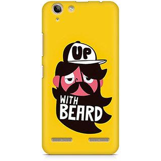 CopyCatz Up With Beard Premium Printed Case For Lenovo K5 Plus