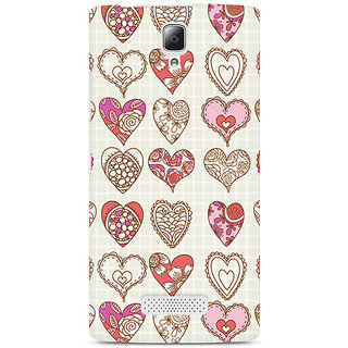 CopyCatz So Many Hearts Premium Printed Case For Lenovo A2010