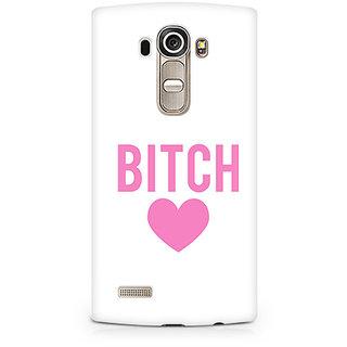 CopyCatz Bitch Love Premium Printed Case For LG G4