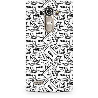 CopyCatz Casette Cluster Premium Printed Case For LG G4