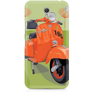 CopyCatz Orange Vespa Premium Printed Case For Lenovo Zuk Z1