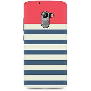 CopyCatz Stripes Pink Premium Printed Case For Lenovo K4 Note