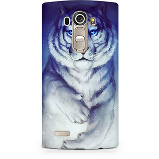 CopyCatz White Tiger Premium Printed Case For LG G4