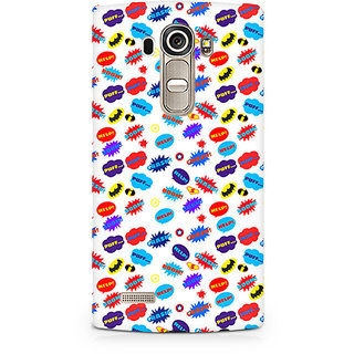 CopyCatz All Superheroes on white clipart Premium Printed Case For LG G4