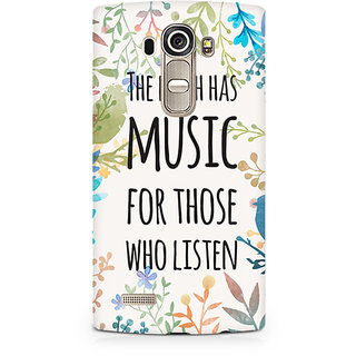 CopyCatz Music of Earth Premium Printed Case For LG G4