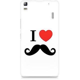 CopyCatz I Love Beards Premium Printed Case For Lenovo A7000