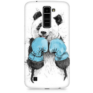CopyCatz Panda Boxer Premium Printed Case For LG K7