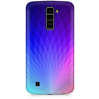 CopyCatz The Glowing Lotus Premium Printed Case For LG K10