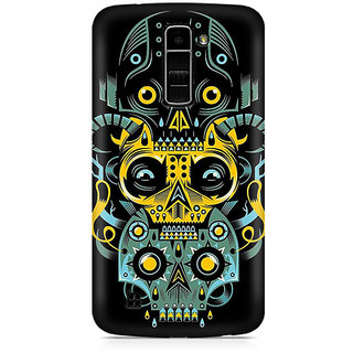 CopyCatz Three Skulls Premium Printed Case For LG K10