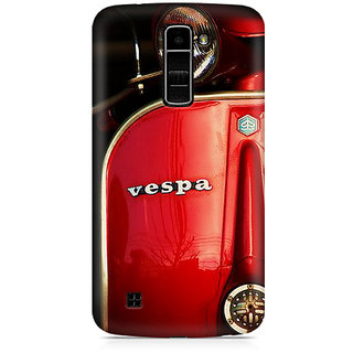 CopyCatz Vespa Premium Printed Case For LG K10