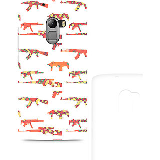 CopyCatz Hue Gun Premium Printed Case For Lenovo K4 Note