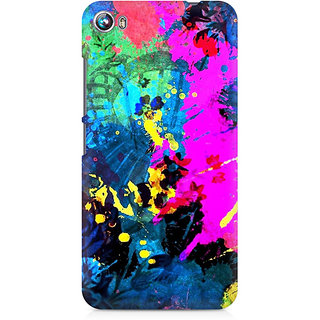 CopyCatz Artful Splatter Premium Printed Case For Micromax Canvas Fire 4 A107