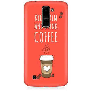 CopyCatz Keep Calm and have Cofee Premium Printed Case For LG K10