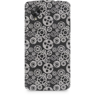 CopyCatz Vintage Gear Overload Premium Printed Case For LG Nexus 5