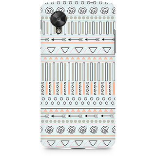 CopyCatz Tribal Chic04 Premium Printed Case For LG Nexus 5