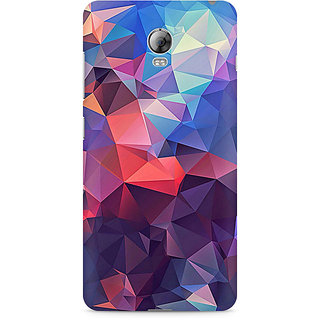 CopyCatz Abstract Fusion Triangle Premium Printed Case For Lenovo Vibe P1