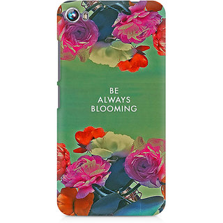 CopyCatz Be Always Blooming Premium Printed Case For Micromax Canvas Fire 4 A107