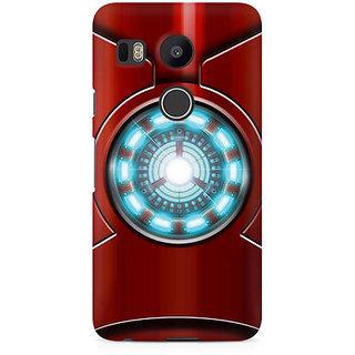 CopyCatz Iron Man's Heart Premium Printed Case For LG Nexus 5X