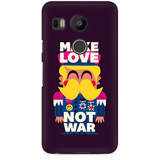 CopyCatz Make Love Not War Premium Printed Case For LG Nexus 5X