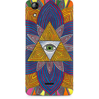 CopyCatz The Eye Premium Printed Case For Micromax Canvas Selfie 2 Q340