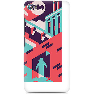 CopyCatz Where is Batman Premium Printed Case For Micromax Canvas Fire 4 A107