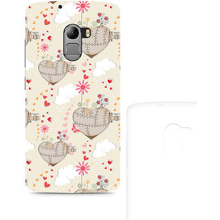 CopyCatz Heart is a Machine Premium Printed Case For Lenovo K4 Note
