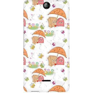 CopyCatz Together Forever Premium Printed Case For Micromax Canvas Juice 3 Q392