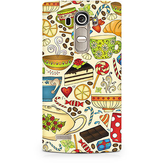 CopyCatz Abstract Tea Party Premium Printed Case For LG G4
