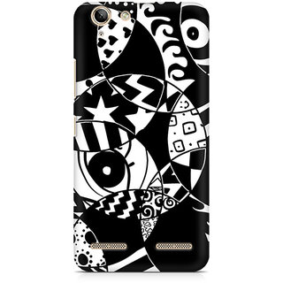 CopyCatz Random Abstract Premium Printed Case For Lenovo K5 Plus