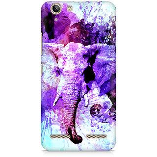 CopyCatz Watercolor Elephant Premium Printed Case For Lenovo K5 Plus
