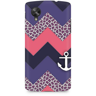 CopyCatz Chevron Anchored Premium Printed Case For LG Nexus 5
