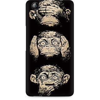 CopyCatz Three Wise Monkeys Premium Printed Case For Micromax Canvas Selfie 2 Q340