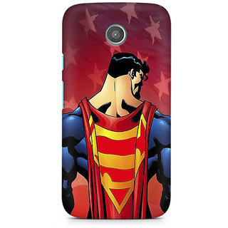 CopyCatz Superman Cape Premium Printed Case For Moto E