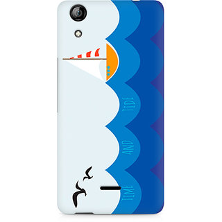 CopyCatz Time and Tide Premium Printed Case For Micromax Canvas Selfie 2 Q340