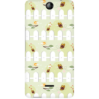 CopyCatz Jump over the Fence Premium Printed Case For Micromax Canvas Juice 3 Q392