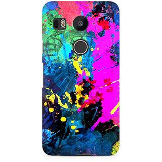 CopyCatz Artful Splatter Premium Printed Case For LG Nexus 5X