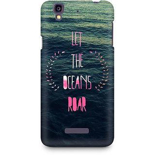 CopyCatz Let the Oceans Roar Premium Printed Case For Micromax YU Yureka A05510