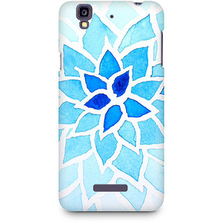 CopyCatz Lotus Blue Premium Printed Case For Micromax YU Yureka A05510