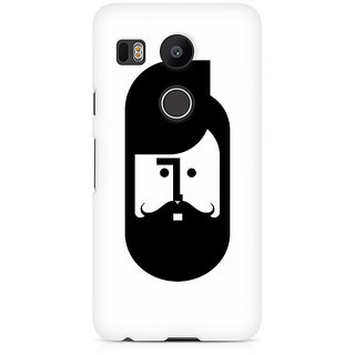 CopyCatz The Perfect Moustache Premium Printed Case For LG Nexus 5X