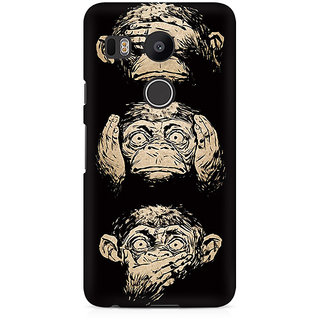 CopyCatz Three Wise Monkeys Premium Printed Case For LG Nexus 5X