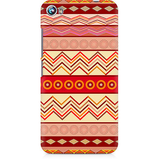 CopyCatz Tribal Chevron Premium Printed Case For Micromax Canvas Fire 4 A107