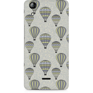 CopyCatz Vintage Hot Air Balloons Premium Printed Case For Micromax Canvas Selfie 2 Q340