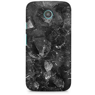 CopyCatz Dark Jewel Texture Premium Printed Case For Moto E