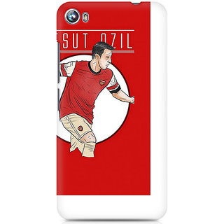 CopyCatz Mesut Ozil Premium Printed Case For Micromax Canvas Fire 4 A107