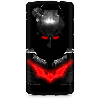 CopyCatz Red Eyed Batman Premium Printed Case For LG Nexus 5