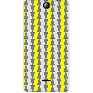 CopyCatz Yellow and White Cards Premium Printed Case For Micromax Canvas Juice 3 Q392