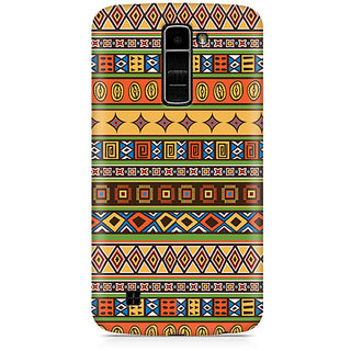 CopyCatz Tile Abstract Geometric Premium Printed Case For LG K7